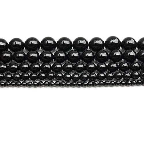 Black Onyx Rounds Beads